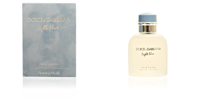 Dolce & Gabbana LIGHT BLUE HOMME edt vaporizador 75 ml