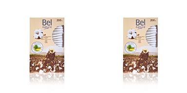 Bel NATURE bastoncillos algodón 100% orgánico 200 pz