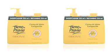 Heno De Pravia HENO DE PRAVIA crema jabón dosificador+recambio 250 ml