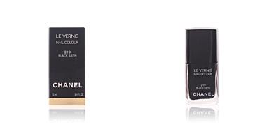 Chanel LE VERNIS #219-black satin 13 ml