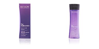 Revlon BE FABULOUS daily care fine hair cream shampoo 250 ml