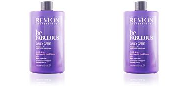 Revlon BE FABULOUS daily fine cream conditioner 750 ml