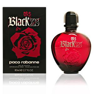 BLACK XS FOR HER edt vaporizador 80 ml