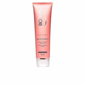 BIOSOURCE mousse nettoyante PS 150 ml
