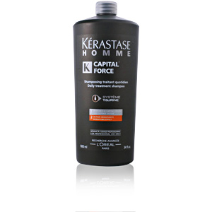 HOMME CAPITAL FORCE bain densifiant 1000 ml