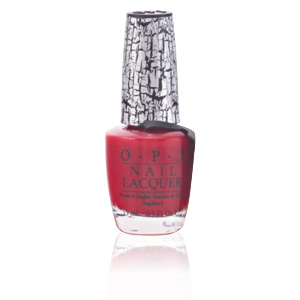 NAIL LACQUER #NLE55-red shatter 15 ml