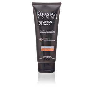 HOMME CAPITAL FORCE gel ultra-fixant densifiant 200 ml