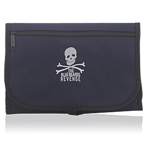 ACCESSORIES blue washbag with logo 1 pz