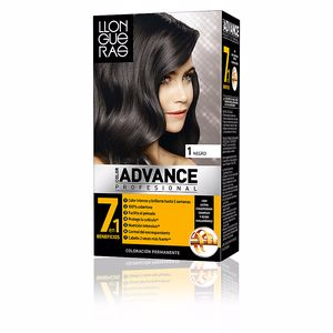 LLONGUERAS COLOR ADVANCE hair colour #1-natural black