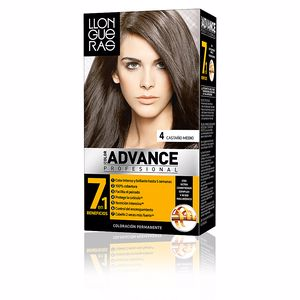 LLONGUERAS COLOR ADVANCE hair colour #4-medium brown