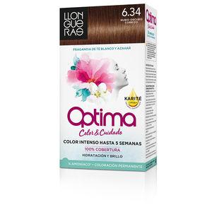 LLONGUERAS OPTIMA hair colour #6.34-golden deep blond