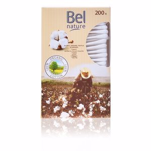 NATURE bastoncillos algodón 100% orgánico 200 pz