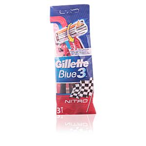 BLUE 3 NITRO cuchilla afeitar desechable 3 uds.