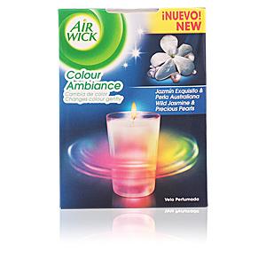 AIR-WICK COLOUR AMBIANCE vela perfumada #jazmín & perla