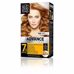 LLONGUERAS COLOR ADVANCE hair colour #7.43 cobrizo medio dor