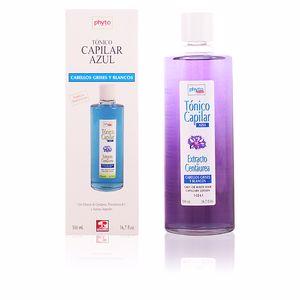PHYTO NATURE tónico azul cabellos grises y blancos 500 ml