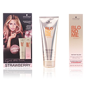 BLONDEME INSTANT BLUSH STRAWBERRY LOTE 2 pz