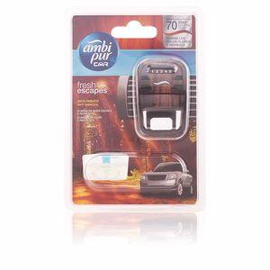AMBIPUR CAR ambientador aparato + recambio #anti-tabaco 7 ml