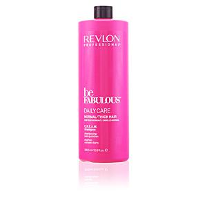 BE FABULOUS daily care normal cream shampoo 1000 ml