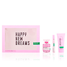 UNITED DREAMS HAPPY NEW DREAMS COFFRET 3 pz